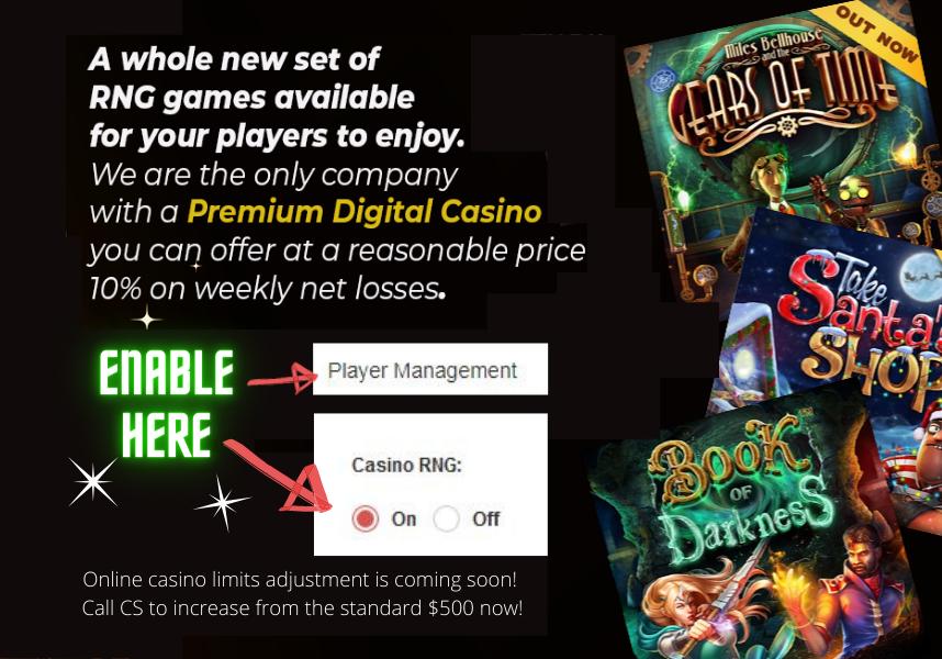 New Premium Digital Casino
